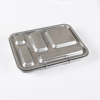 Caja Bento de Acero Inoxidable Amazon